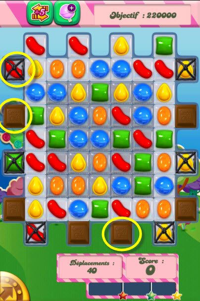Candy Crush Saga niveau 65