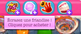 Candy Crush Saga - Booster Friandise