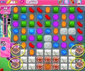 Candy Crush Saga - niveau 425