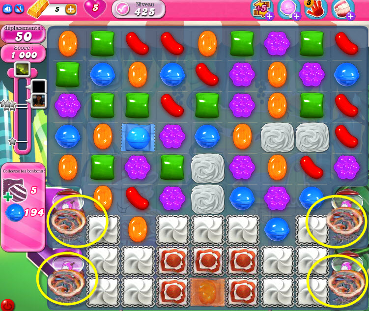Candy Crush Saga - niveau 425