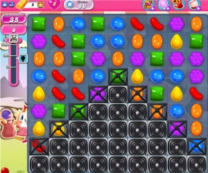 Candy Crush Saga - niveau 86