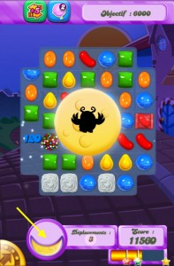 Candy Crush Saga - Le Monde des Songes - Moon Strike