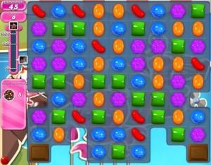 Candy Crush Saga - niveau 135