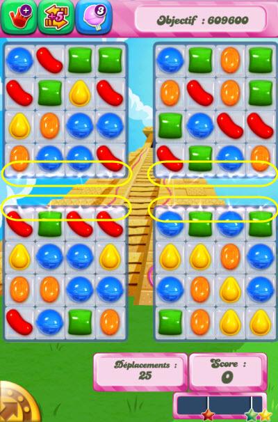 Candy Crush Saga - niveau 323 iphone