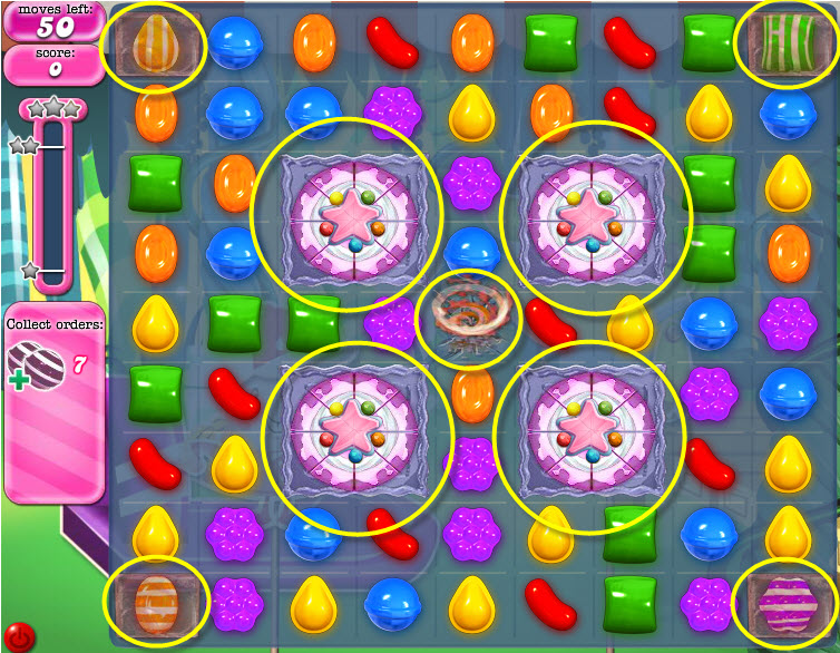 Candy Crush Saga - niveau 421