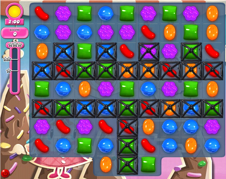 Candy Crush Saga - niveau 43