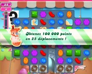 Candy Crush Saga - niveau 735 - objectif PC