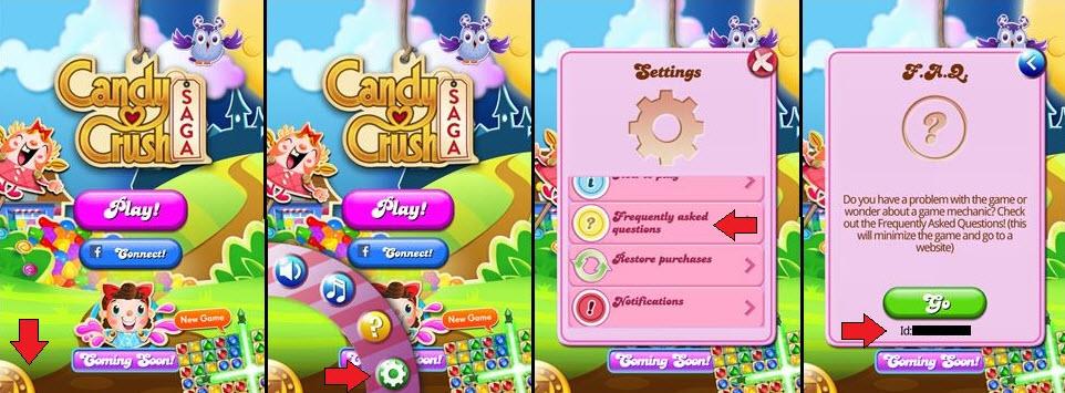 Candy Crush game ID
