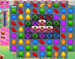 Candy Crush Saga - niveau 743