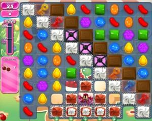 Candy Crush Saga - niveau 744