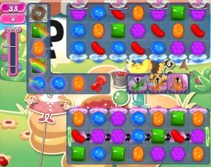 Candy Crush Saga - niveau 748