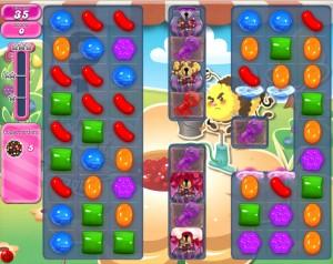 Candy Crush Saga - niveau 753