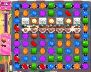 Candy Crush Saga - niveau level 775