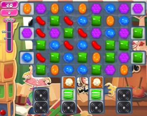 Candy Crush Saga - niveau level 776