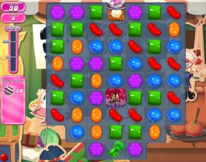Candy Crush Saga - niveau level 777