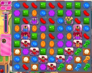 Candy Crush Saga - niveau level 785