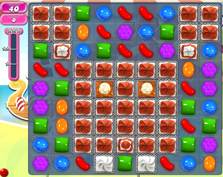 Candy Crush Saga - niveau level 786