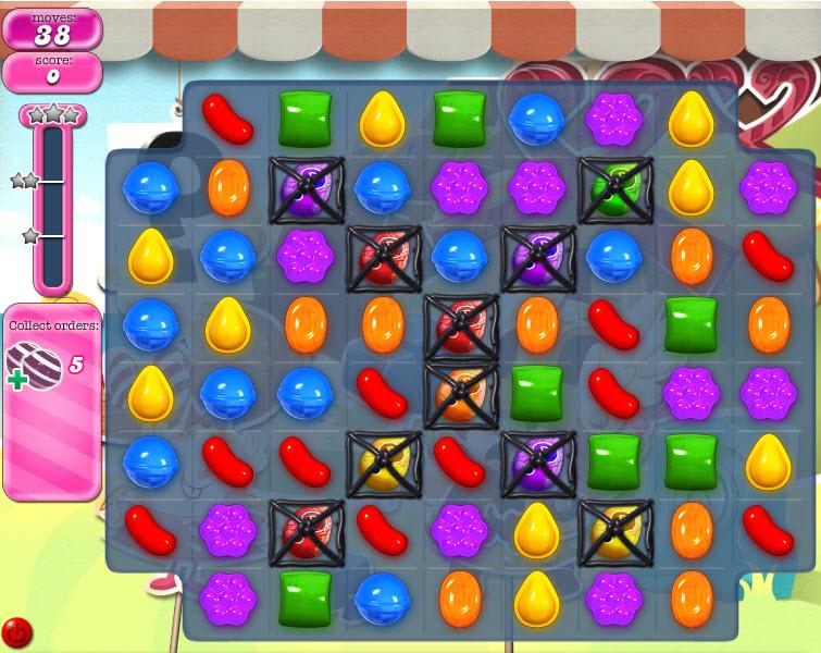 Candy Crush Saga - niveau level 788