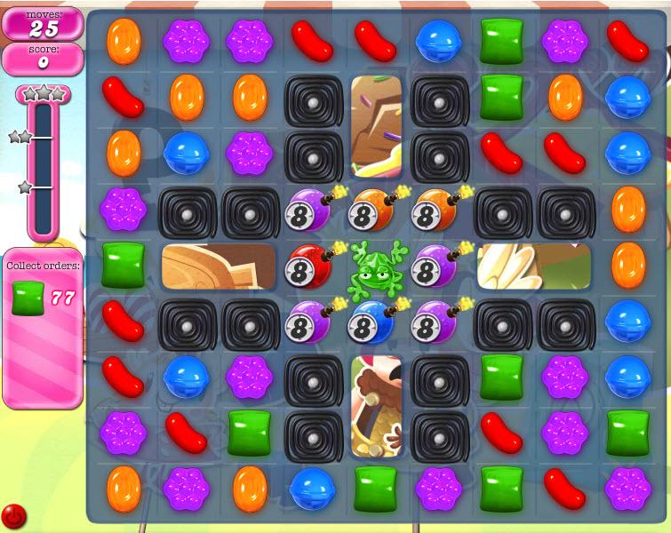 Candy Crush Saga - niveau level 789