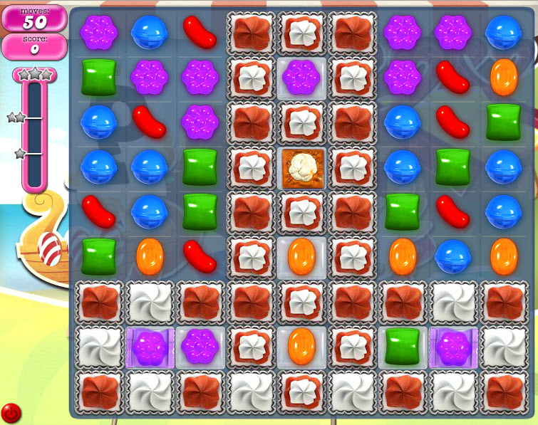 Candy Crush Saga - niveau level 791