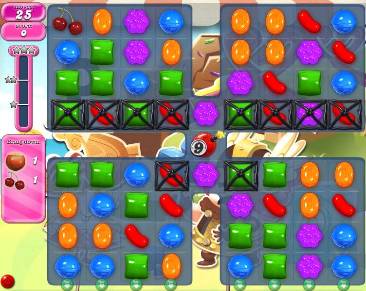 Candy Crush Saga - niveau level 793