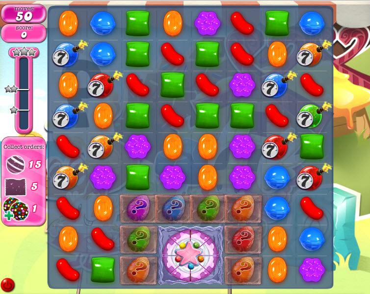Candy Crush Saga - niveau level 794