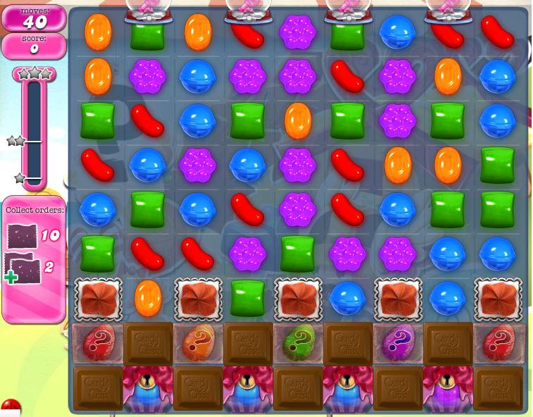 Candy Crush Saga - niveau level 795