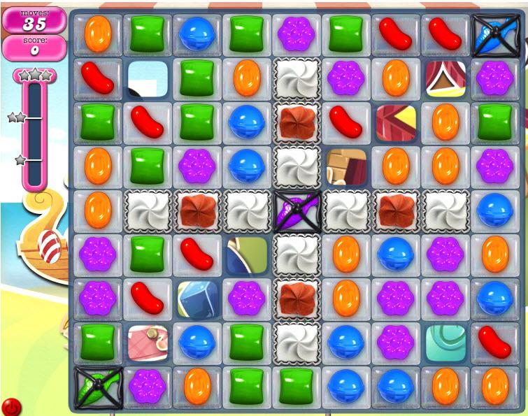 Candy Crush Saga - niveau level 797