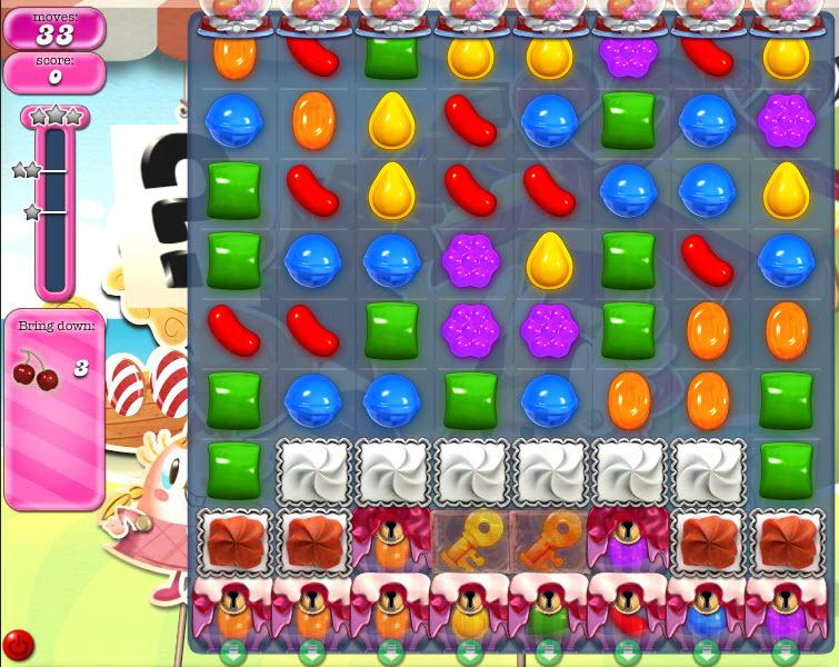Candy Crush Saga - niveau level 798