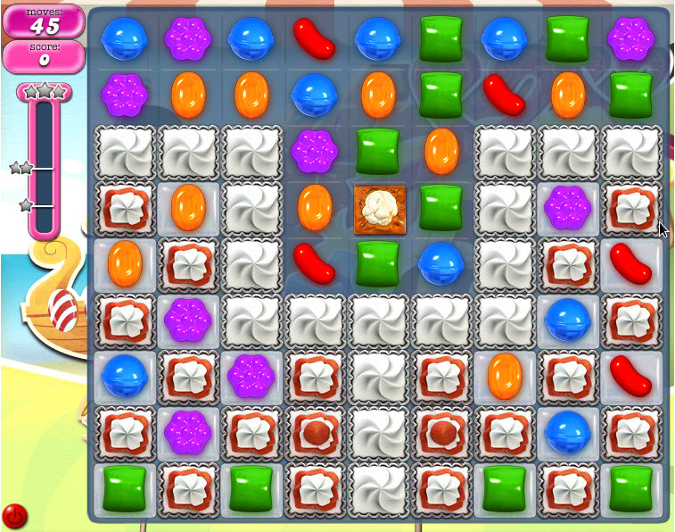Candy Crush Saga - niveau level 799