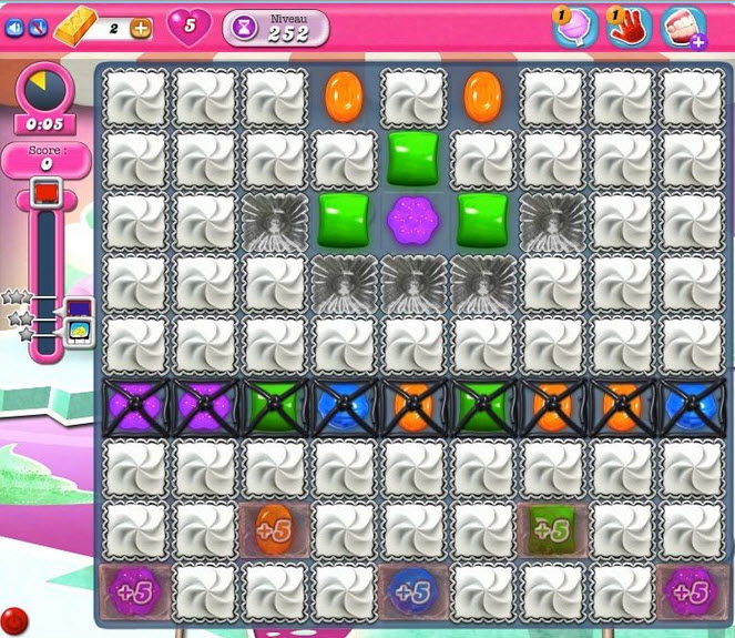 Candy Crush Saga - niveau 252