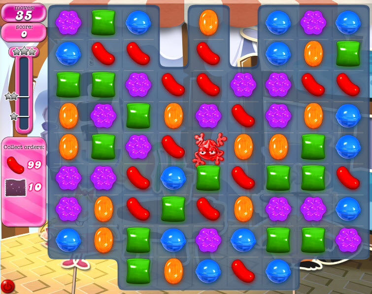 Candy Crush Saga - niveau 819