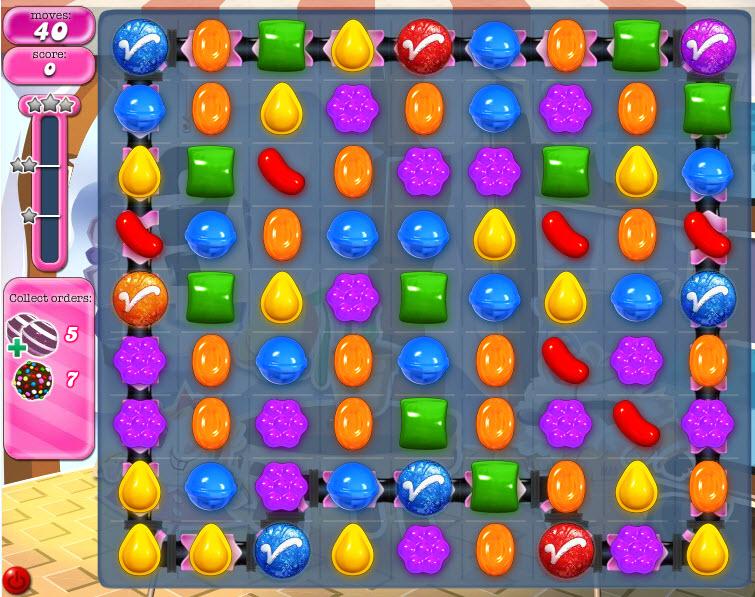 Candy Crush Saga - niveau 820