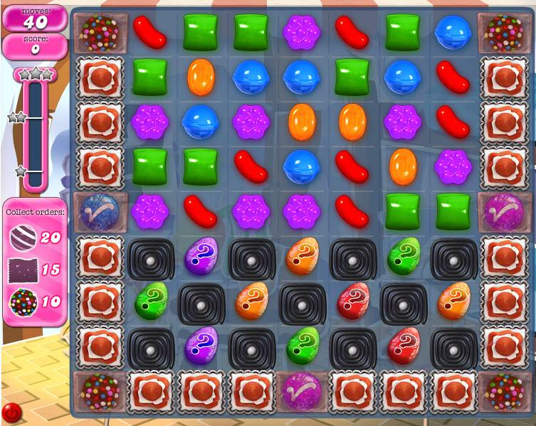 Candy Crush Saga - niveau 821