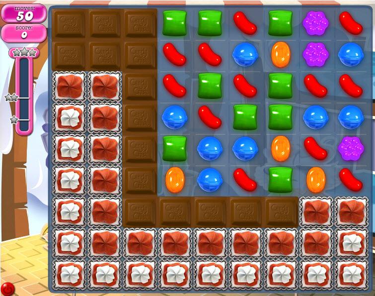 Candy Crush Saga - niveau 822