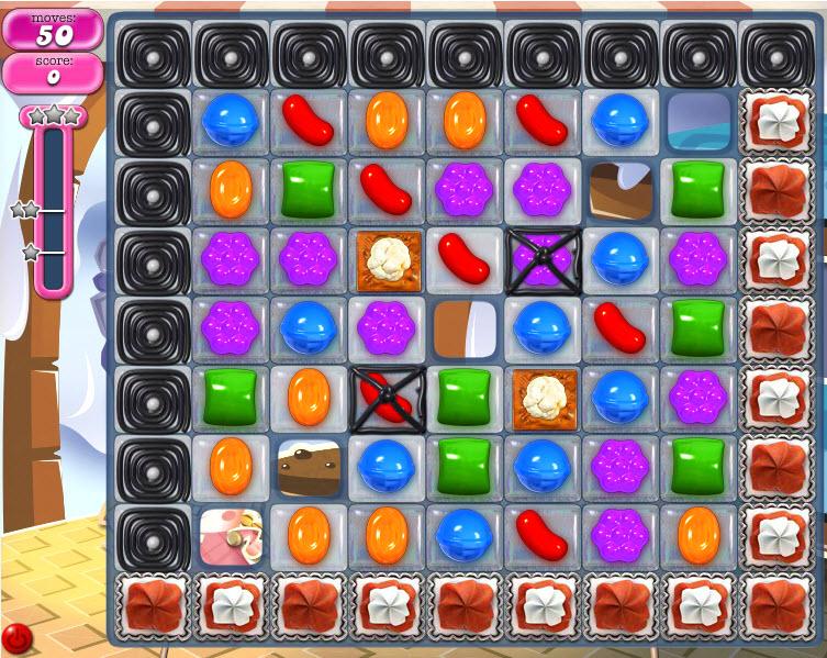Candy Crush Saga - niveau 823