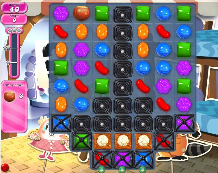 Candy Crush Saga - niveau 825