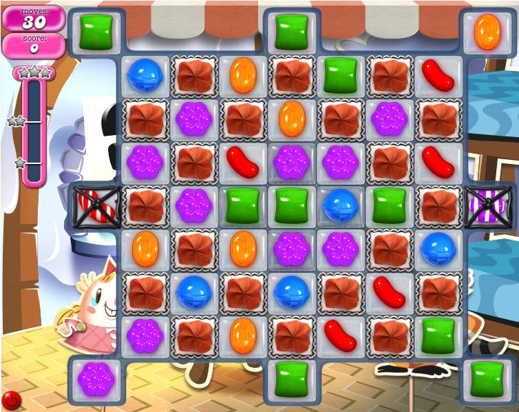 Candy Crush Saga - niveau 826