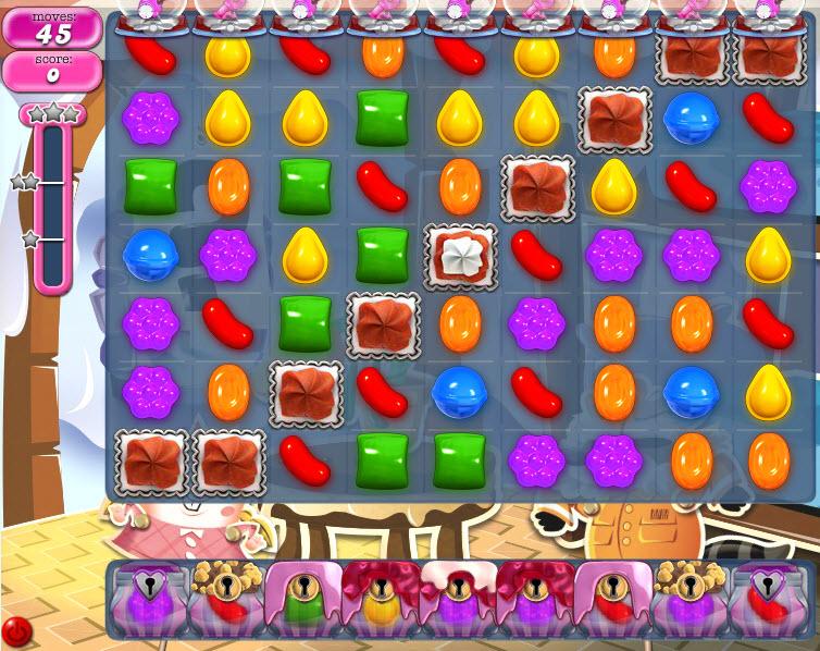 Candy Crush Saga - niveau 827