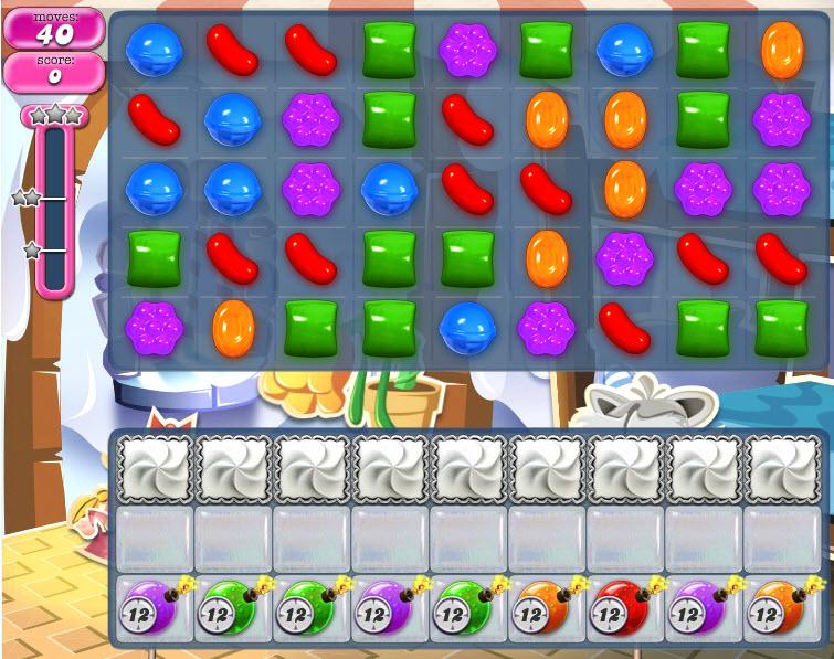 Candy Crush Saga - niveau 830