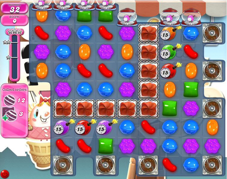 Candy Crush Saga niveau 699
