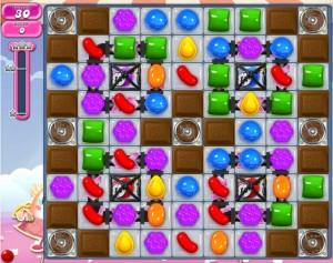 Candy Crush niveau 878