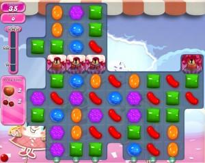 Candy Crush niveau 886