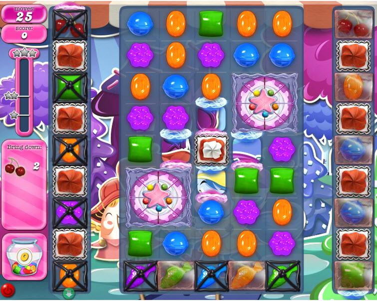Candy Crush Saga niveau 1247