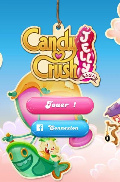 Jouez à Candy Crush Saga Jelly