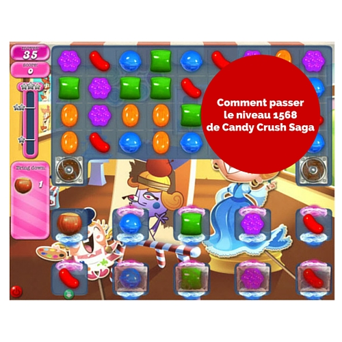 Candy Crush Saga niveau 1568