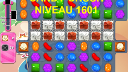 Candy Crush Saga niveau 1601
