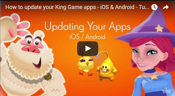How to update Candy crush Saga