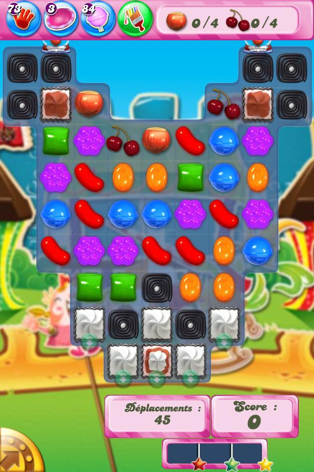 Candy Crush Saga niveau 679 - version mobile