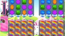 Candy Crush Saga niveau 467